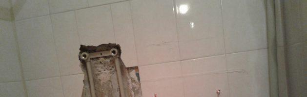 Замена разводки труб и счетчика воды в квартире Ленинского района