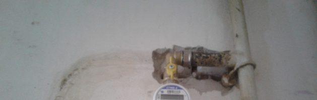 Установка газового счетчика сгмб 4 Советский район