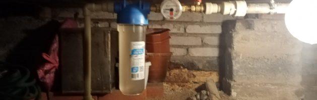 Установка счетчика воды в частном доме Приокский район